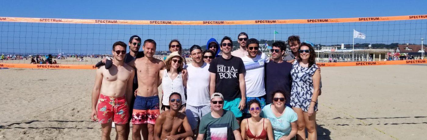 Chez ULE, on aime se retrouver…aussi pour du Beach Volley